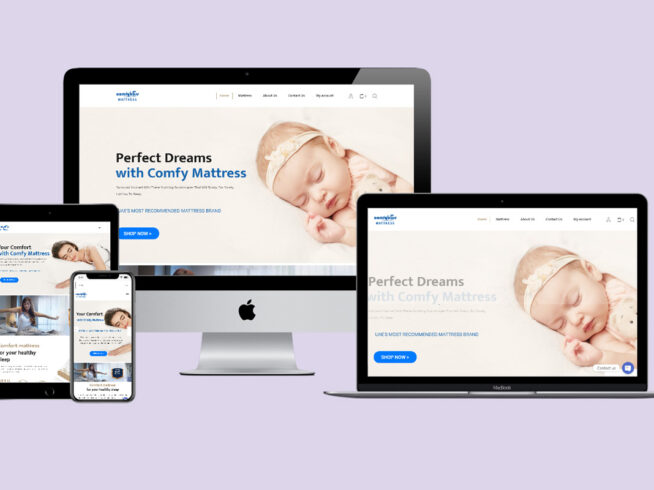 Comfybliss | Website Design